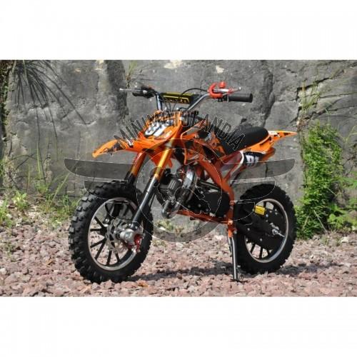"Midicross 49cc Cerchio 10"" Minicross 2 Tempi New Spider"