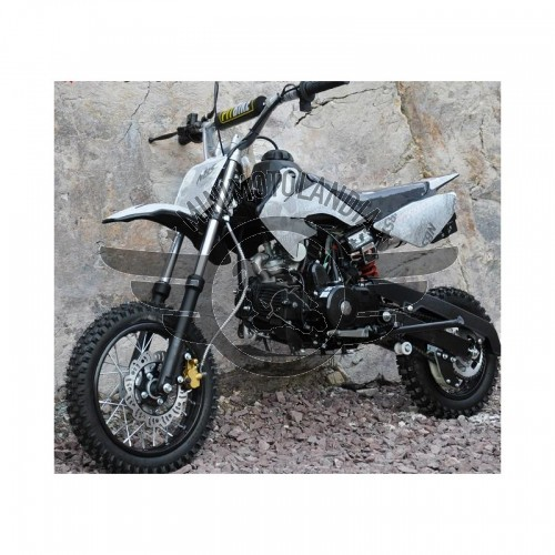 "Pit Bike CRF 50 Cross 12-10"" Semiautomatico 110cc 4 Tempi Marce"