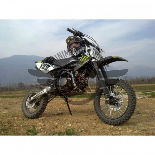 Pit Bike BSE Monster YX 160cc 18cv Dirt Bike Racing 17-14""