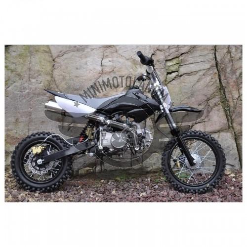 "Pit Bike CRF 50 Dirt Bike 125cc YX 11cv 4 Tempi 14-12"""