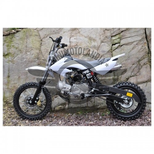 Pit Bike CRF 50 Dirt Bike 125cc YX 11cv 4 Tempi 14-12""