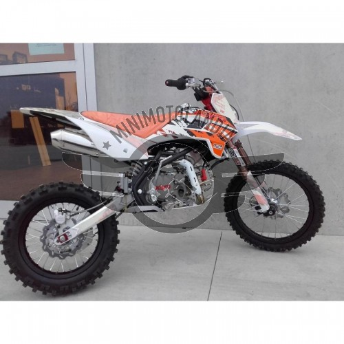 "Pit Bike KRZ 170cc KAYO Racing Cross Cerchi 17""-14"""
