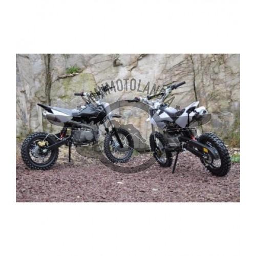 "Pit Bike CRF 50 Cerchi 14""-12"" Motore 125cc YX 4 Tempi"