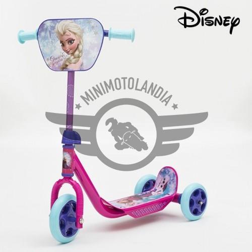 Monopattino Tre Ruote Scooter Disney Frozen Per Bambine