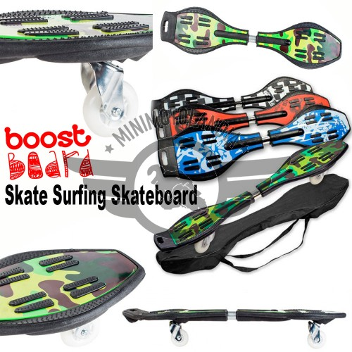 Boost Skate Surfing Skateboard Wave 2 Ruote Waveboard