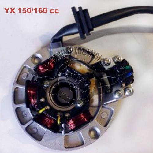 Statore Motore 150/160cc YX 6 Bobine Per Pit Bike