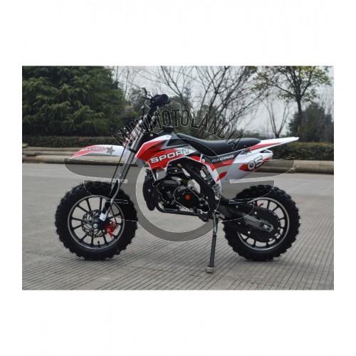 """Midicross Tiger 49cc Cerchio 10"""" Minicross 2 Tempi"""