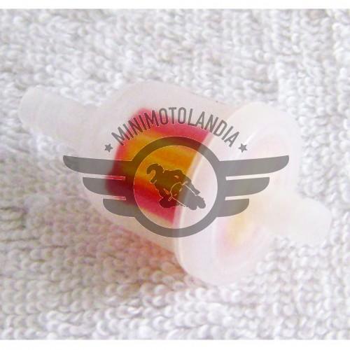 Filtro Benzina Plastica Per Minimoto, Minicross, Miniquad