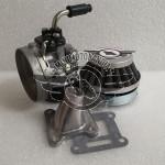 Carburatore Dell'Orto SHA 14mm + Collettore + Filtro Racing Minimoto Aria