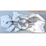 Carena Bianca Per Minicross Replica KTM Vecchio Modello Morini Lem Italjet