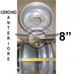 """Cerchio Anteriore 8"""" Per Gomma Quad ATV 19X7.00-8"""""""