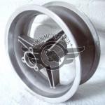 """Cerchio 6.5"""" Anteriore Minimoto Mozzo 9cm"""