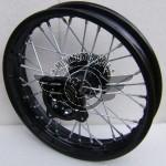 """Cerchio 14"""" Anteriore Perno 15mm Pit Bike"""