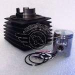 Kit Cilindro e Pistone Doppia Fascia Per Minicross Replica KTM Morini
