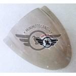 Cupolino Trasparente per Carena Minimoto Aria GP2 49cc