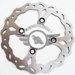 Disco Freno Tondo-Crociato Diametro 220mm Per Pit Bike